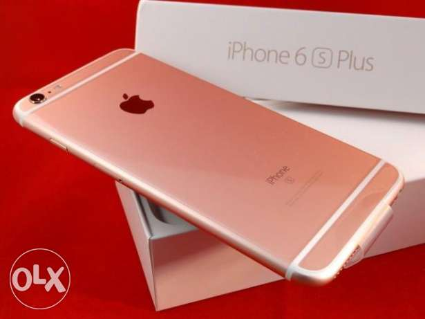 Apple iphone 6s plus 64GB Rose Gold with apple international warranty مسقط -  2