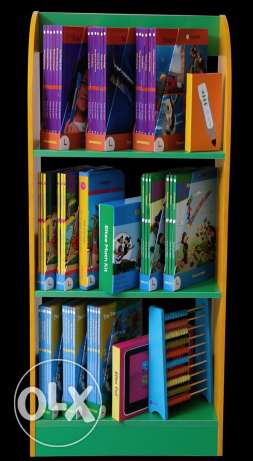 Book shelf of high quality Fiber board