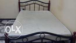 Queen size bed for sale.