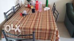 Well Maintained branded 6 seater dining Table for urgent sale