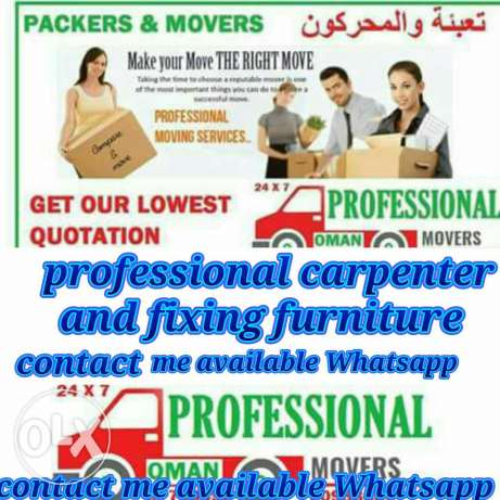 Remove and fixing furniture I have professional carpenter for house