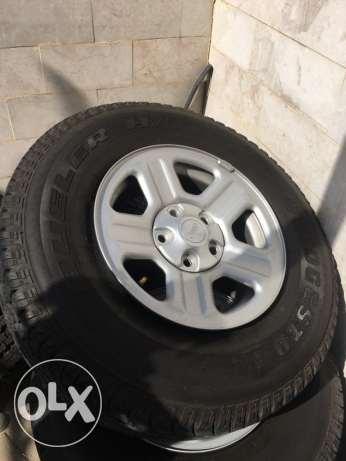 Jeep Wrangler Rims & Tires for Sale