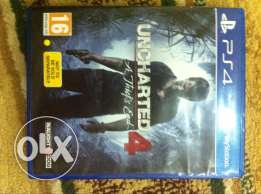 Uncharted 4 game for sale