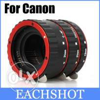 Macro extension tubes for Canon