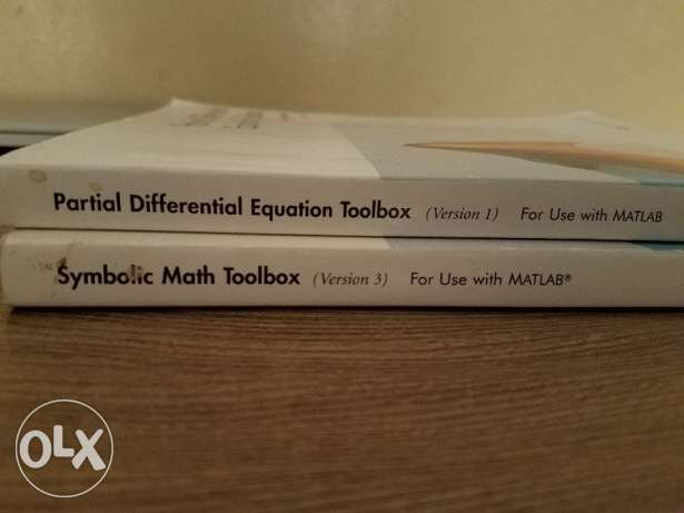 Matlab - User Guide - Two books