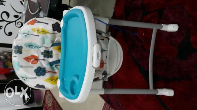 Graco high chair, as new condition مسقط -  4