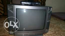 "Tv SHARP 24 "" + receiver good condition"
