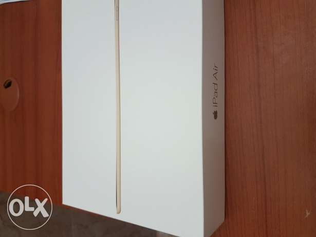 iPad Air 2 wi-Fi Cellular 128 GB Gold
