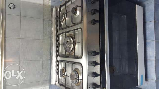 Cooking range &cylinder
