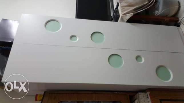 Cupboard and cot set for sale