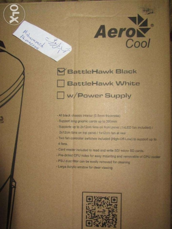 حــاوية حاسوب : PC Case : AeroCool BattleHawk الرستاق -  7