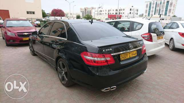 E 350 AMG full option, lady use