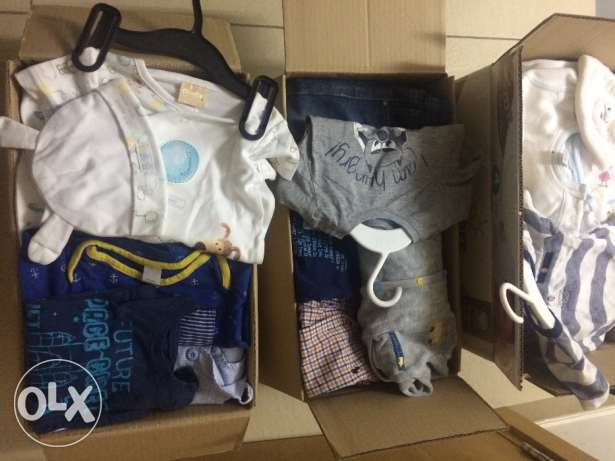 New born-2 years boys clothes. Some new!