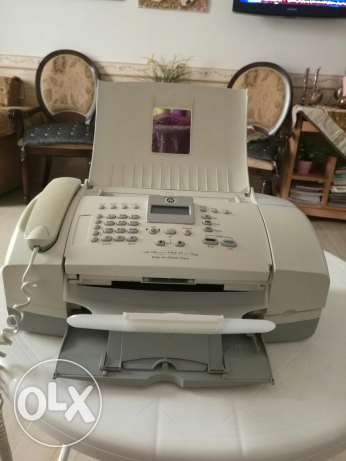 جهاز فاكس hp ويعمل طابعةوسكنر واستنساخ.Fax and printer,scanner+copier