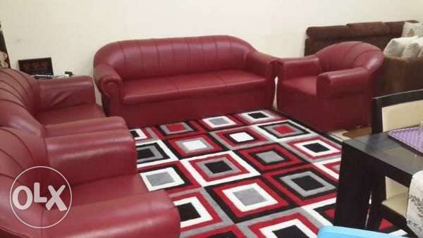 Brand new 7 seater sofa set مسقط -  4