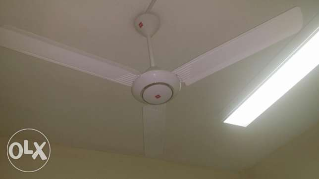 A ceiling fan only two months using