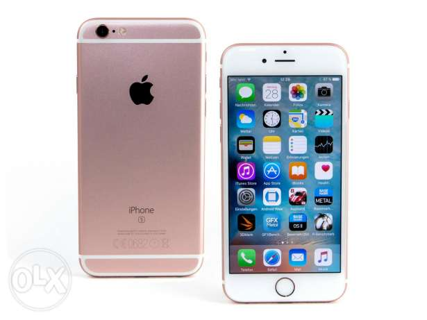 Iphone 6s for sale.64 gb rose gold. صحار -  1