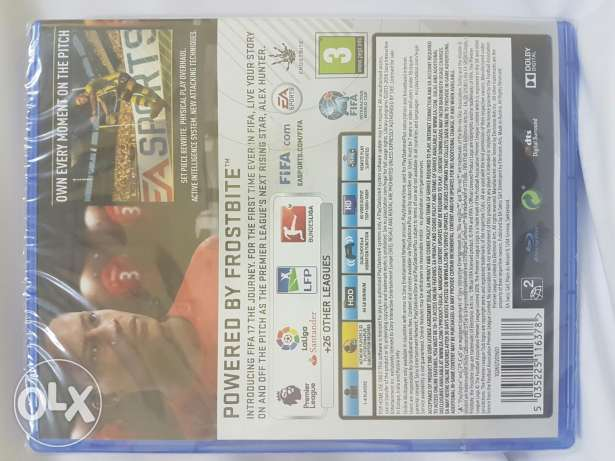 Fifa17 game for sale عبري -  2