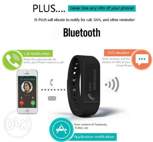 the best smart watch I5 Plus Smart Bluetooth Watch 6 days charge مسقط -  2