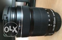 Canon 18-135 IS (can be exchanged)
