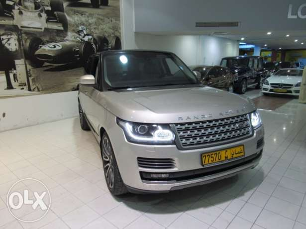 Range Rover vogue supercharger مسقط -  1