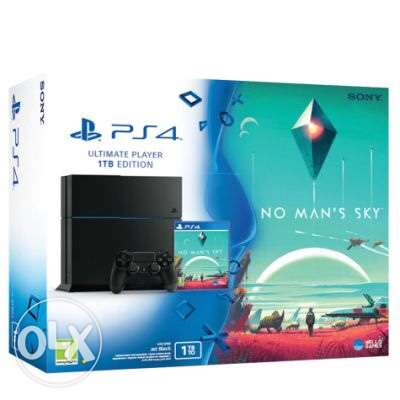 PS4 brand new 1 TB no mans sky bundle for killer offer