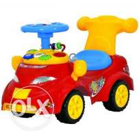 Spin World Funny Ride-On Car