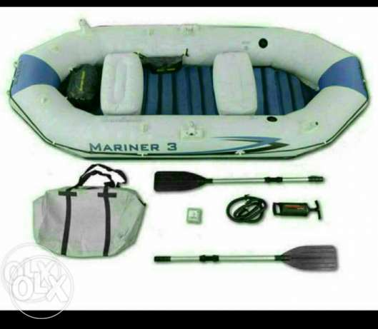 Rubber boat 4_5 person السيب -  2