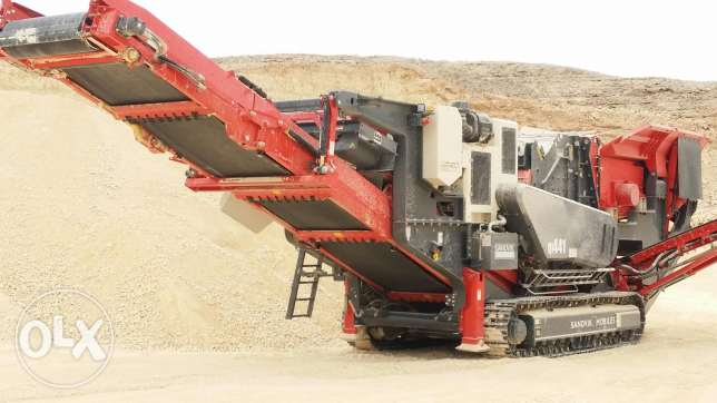 Mobile crusher for rent Q441