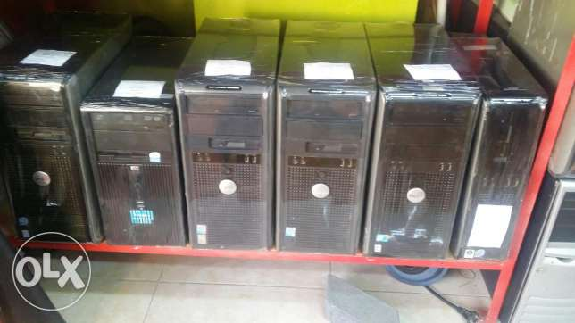 "Dell core 2 dual 2gb ram 160 gb hdd 17 "" lcd only 55rials"