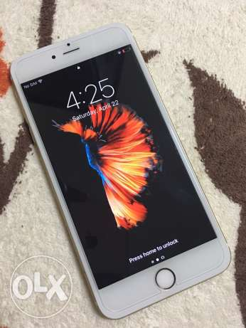 Apple iPhone 6s plus Gold color excellent condition no any problem
