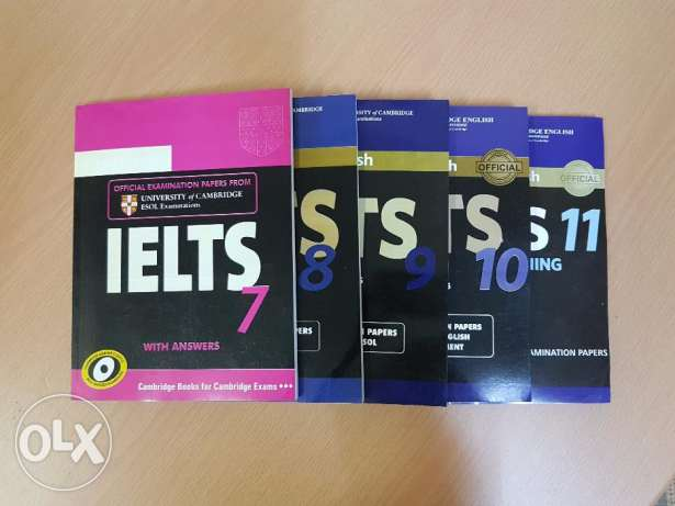 Cambridge IELTS Edition 7-11 Books