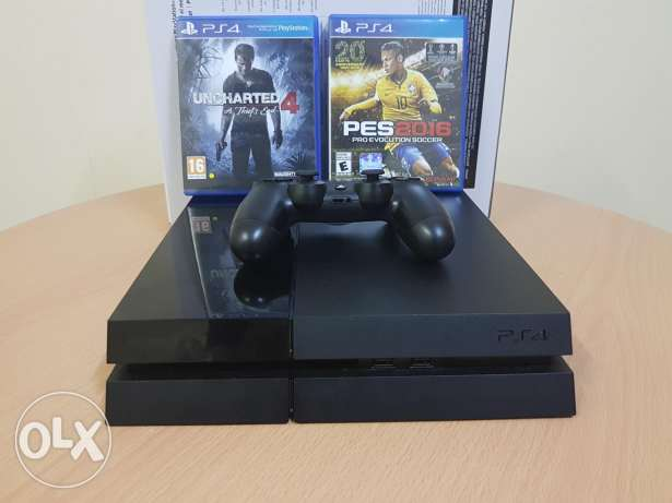 Ps4 1 TB in new condition