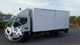 This Truck, mitsubishi canter is a good Condition and No Accident v