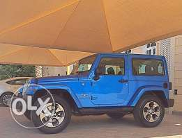 2016 Jeep Sahara AGENCY Oman user just 10 months only