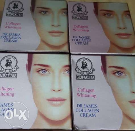 collagen whitening cream for men and women- 4 pieces مسقط -  4