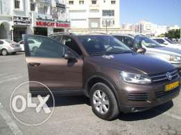 VW Touareg GCC alzubair oman model 2014 for sale