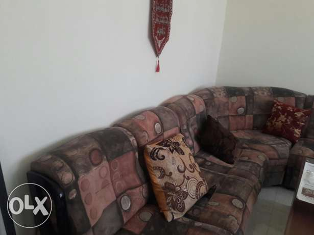 for lady or family in Alkhwair (hall+bedroom+bathroom+big kitchen) مسقط -  2