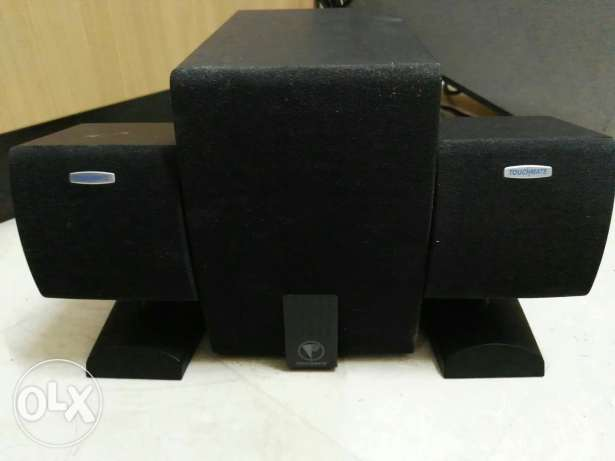 Touchmate speaker with subwoofer