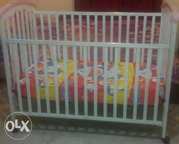 Baby Bed with mattress for sale
