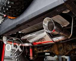 14HKS TWIN EXHAUST 07-16 Jeep® Wrangler