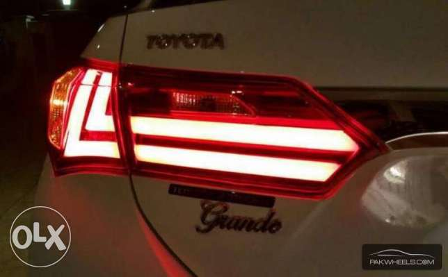 corolla tail lights 2014,15,16 كرستال ليتات كرولا السيب -  3