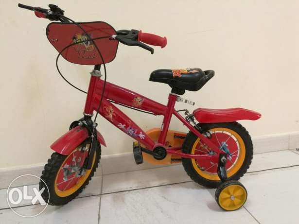 Kids Bicycle with side wheels مسقط -  2
