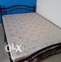 Bed and cot