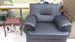 Back leather sofa for sale