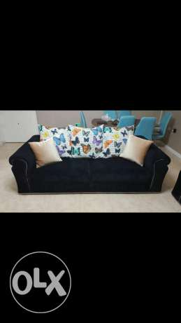 2 pieces 3 seater 2 pieces single sofa
