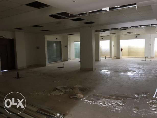 shope for rent in al heil north 250 sq just for 1500 RO السيب -  1