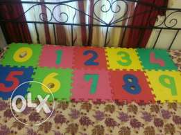 Numbers 0 to 9 soft puzzle