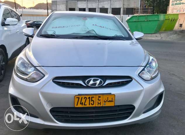 Hyundai Accent 1.6L 2012 model Expat single owner low milage مسقط -  3