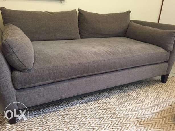Sofa/Daybed from Crate & Barrel - like new / barely used